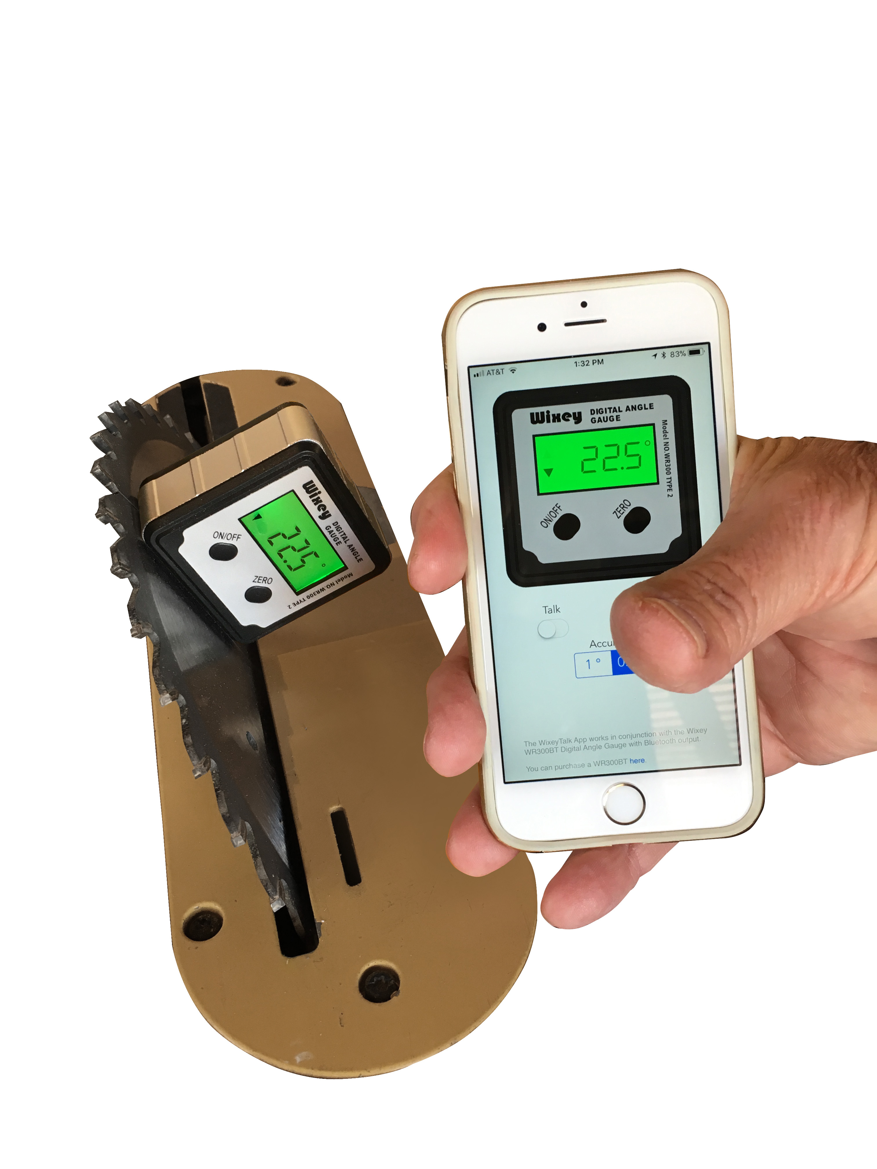 Angle Finder App >> How To Use The Wixey Wr300bt Bluetooth Angle Gauge Sra